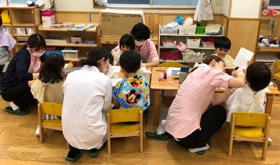 保育園に歯科検診に行って来ました。
